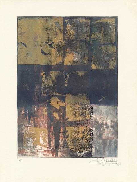 Makoto Fujimura, 'Van Nuys Monotype Series No. 12 凡奈斯絹印單刷系列', 2017, Artrue Gallery
