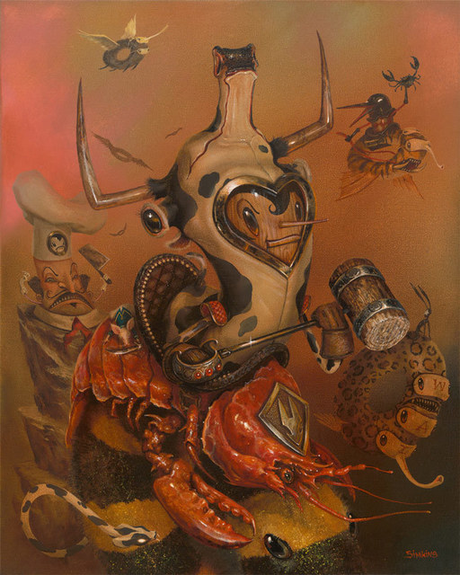 Greg 'Craola' Simkins, 'Surf and Turf', 2015, KP Projects