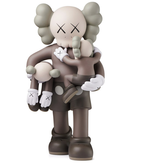 KAWS, 'Clean Slate Brown', 2018, Gin Huang Gallery