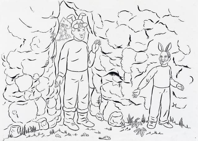 , 'Into the Cave,' 2015, Rena Bransten Gallery
