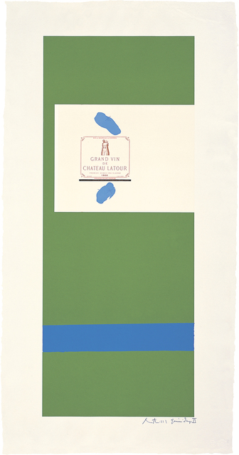 , 'Summer Light Series: Pauillac #3,' 1973, Dedalus Foundation