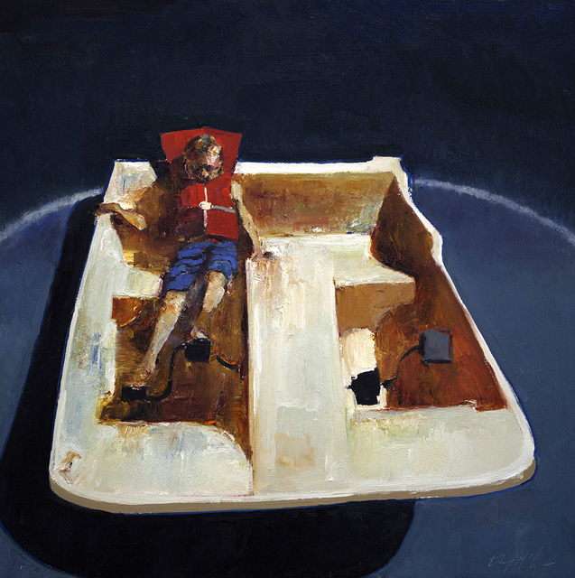 , 'Pedal Boat,' , Sue Greenwood Fine Art