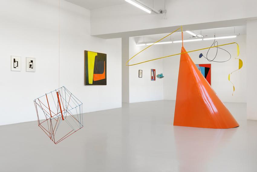 Ib Geertsen, Exhibition view, GAK Gesellschaft für Aktuelle Kunst, 2016, Photo: Tobias Hübel
