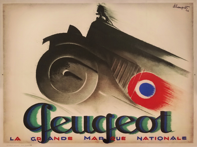 , 'Peugeot - La Grande Marque Nationale,' 1926, Omnibus Gallery