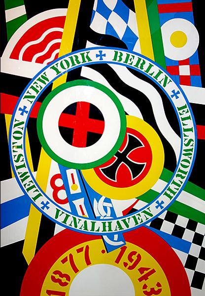 Robert Indiana, 'The Hartley Elegies: The Berlin Series- KvF IV', 1990, Print, Serigraph, Kunzt Gallery