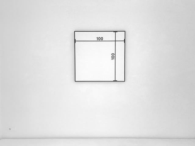 , ' BILD MIT MAßLINIEN /  IMAGE WITH MEASUREMENTS,' 1964, Brigitte March International Contemporary Art