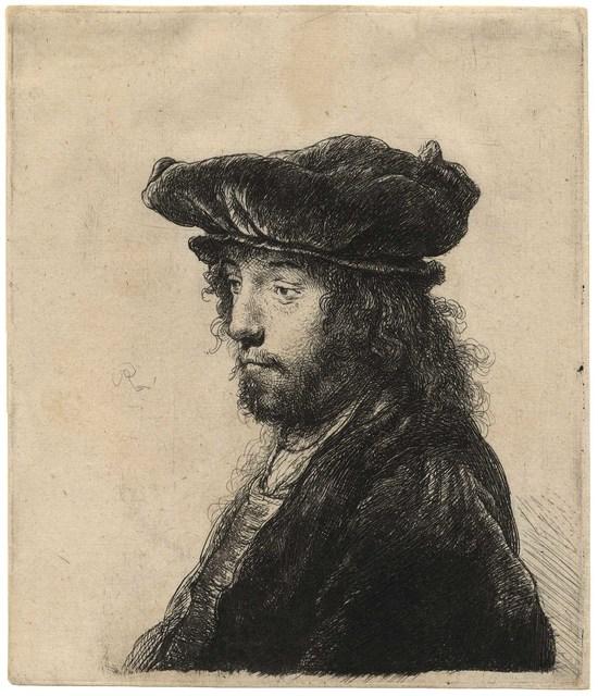 , 'The Fourth Oriental Head,' ca. 1635, C. G. Boerner