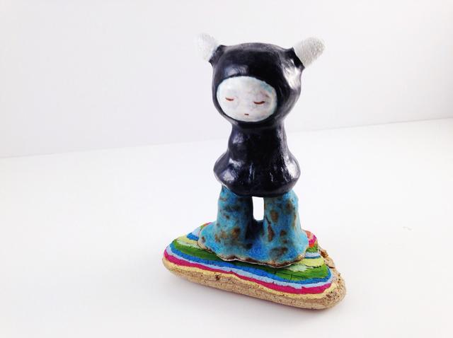 , 'RAINBOW KID,' 2015, saltfineart