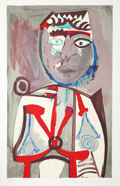 Pablo Picasso, 'Personnage, 1970', 1979-1982, Print, Lithograph on Arches paper, RoGallery