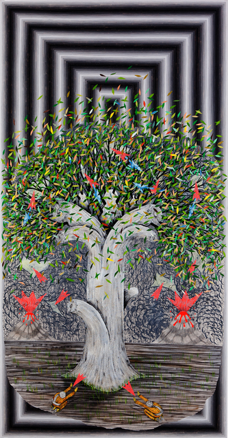 , 'See Through the Trees,' 2016, Fabien Castanier Gallery