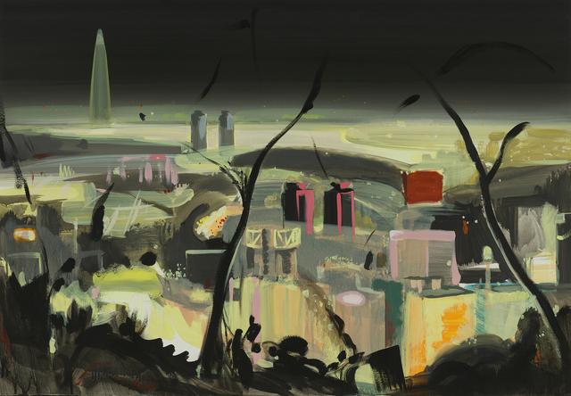, 'Inwangsan Mountain Nightscape ,' 2017, DOOSAN Gallery