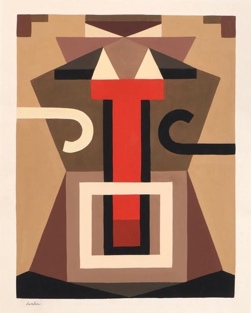 Auguste Herbin, 'Composition symétrique', 1920, Galerie A&R Fleury