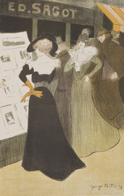Georges Bottini, 'Sagot's Lithography Gallery', 1898, Hammer Museum