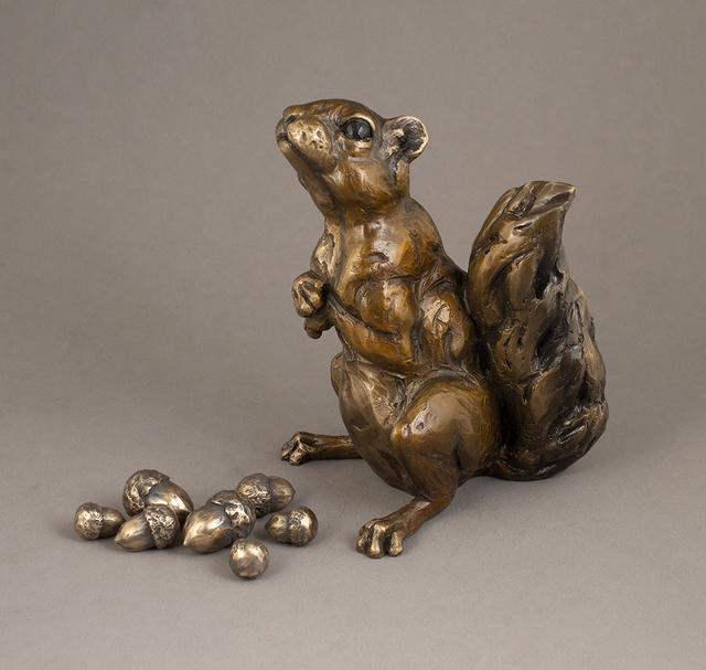 Bryce Pettit, 'Squirrel', 2018, Sculpture, Bronze, Blue Rain Gallery