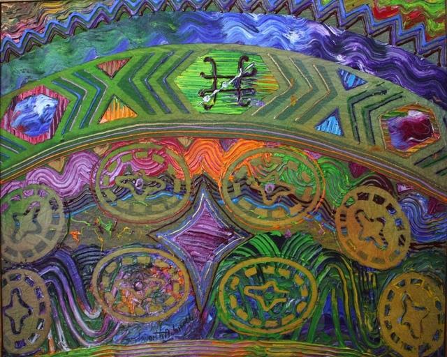 Wadsworth Jarrell, 'Tree House #4', 1993, Aaron Galleries