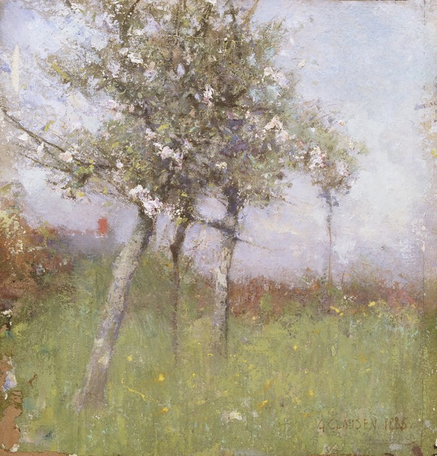 , 'Apple Blossom,' 1885, Princeton University Art Museum