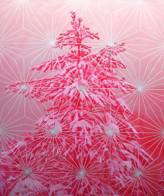 , 'Pink Pine (Raven's Ridge),' 2017, form & concept