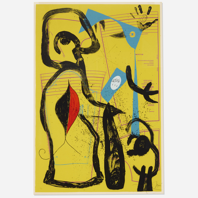 Joan Miró, 'The Fitting II', 1969, Wright
