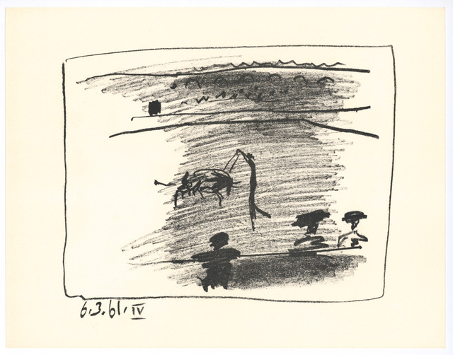 Pablo Picasso, 'Les Banderilles IV', 1961, Galerie d'Orsay