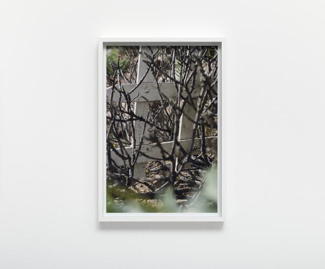 , 'Fence Study no. 3,' 2017, Nils Stærk