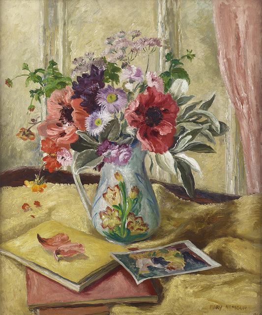 , 'Poppies and Still Life,' 1946, The Scottish Gallery
