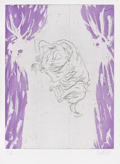 """, 'Cesar, from """"Schlafende Hunde"""",' 1998-1999, Gagosian"""