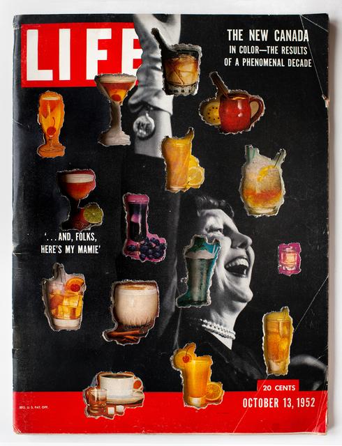 , 'LIFE Cutout No. 141 (October 13, 1952, New Canada Mixers),' 2018, Luis De Jesus Los Angeles