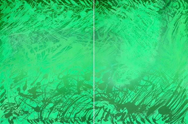 , 'Sketches 2017 – Green 19,' 2017, Galerie du Monde