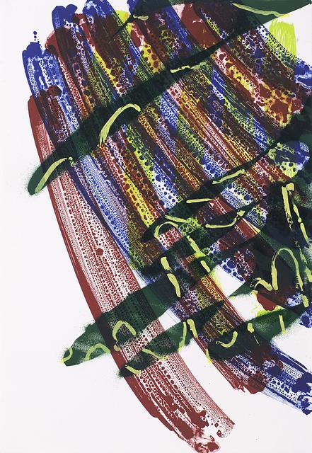 Katharina Grosse, 'untitled (Lithograph No. 3)', 2011, Sina Stockebrand Kunsthandel & Beratung