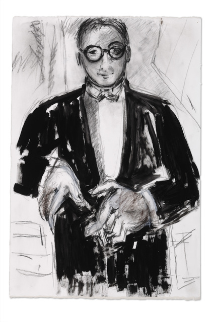 , 'Self as M.B. in Tux II,' 2007, Parrish Art Museum