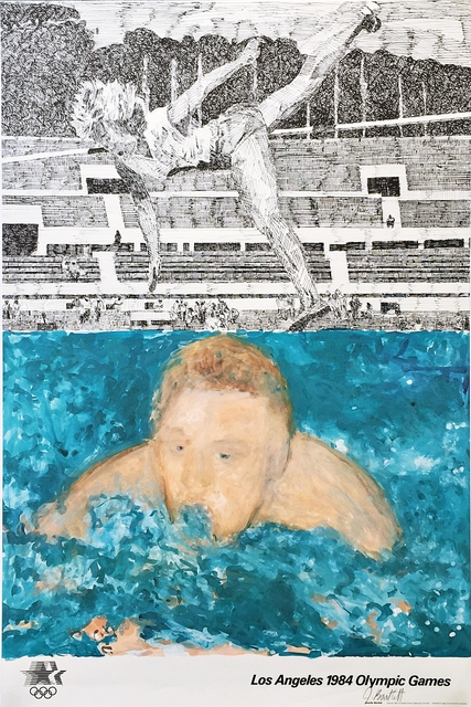 Jennifer Losch Bartlett, 'Los Angeles 1984 Olympic Games (Hand Signed with Signed, Olympic Committee COA)', 1982, Alpha 137 Gallery