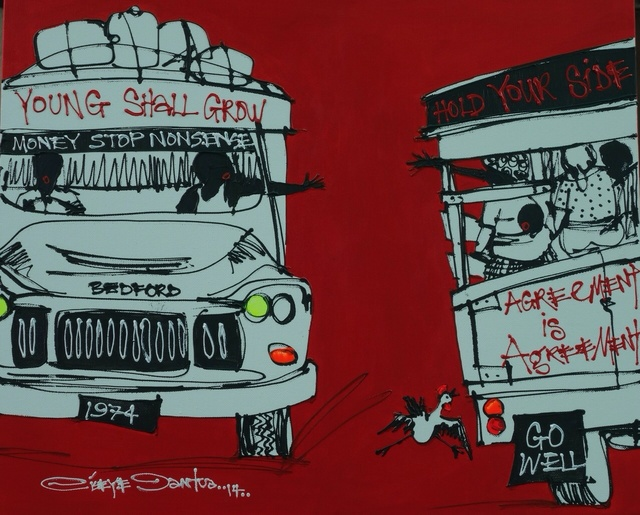 , 'The Young Shall Grow,' 2014, Society of Nigerian Artists