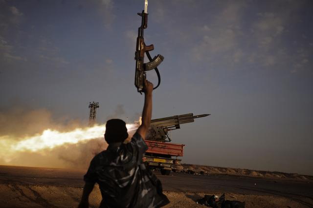 , 'Rebel Fighters, Libyan War,' 2011, Anastasia Photo