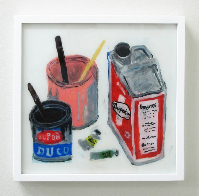 , 'Paint, Turpentine and Paint Tubes,' 2016, V1 Gallery