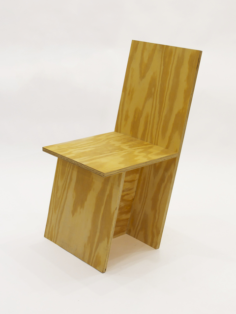 , '+ Chair Slanted,' 2010, Patrick Parrish Gallery