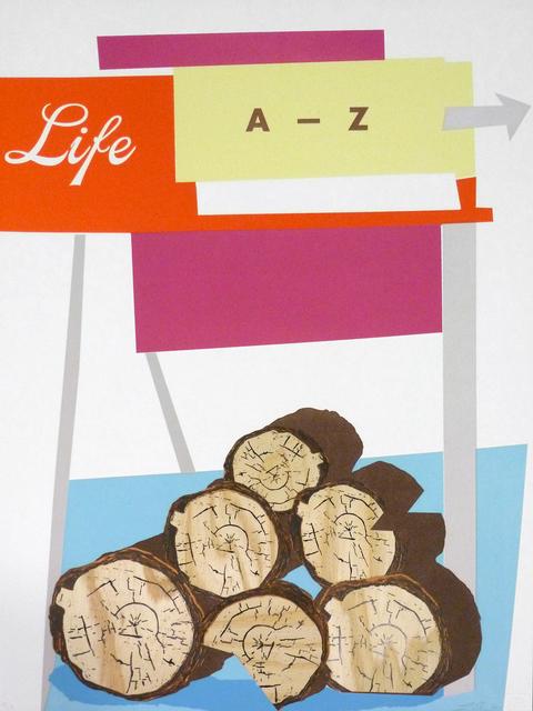 , 'Life A-Z,' 2014, Bert Green Fine Art