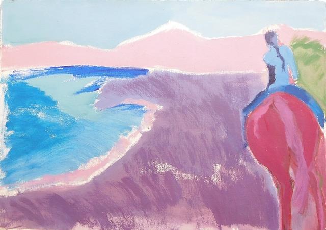 , 'Walking the Dunes Montauk,' 1975, Lawrence Fine Art