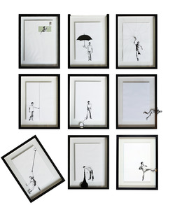 , 'Action Against the Frame,' 2012, 0gms