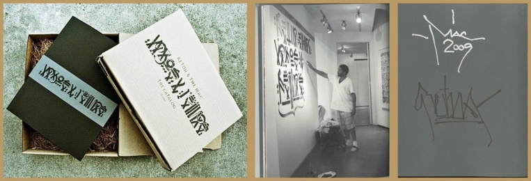 Vagos y Reinas(Vagabonds and Queens) - Limited Edition, Retna and El Mac Exhibition Catalog, Hand Signed by both Artists