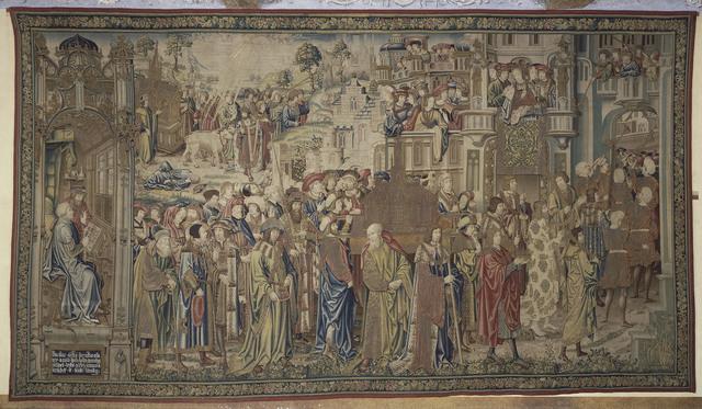 Pieter Coecke van Aelst, 'Tenture de David et Bethsabée (Tapestry of David and Bathsheba)', 1520-1525, Musée national de la Renaissance