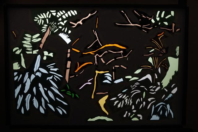 , 'Jungle (pochoir),' 2015, Mannerheim Gallery