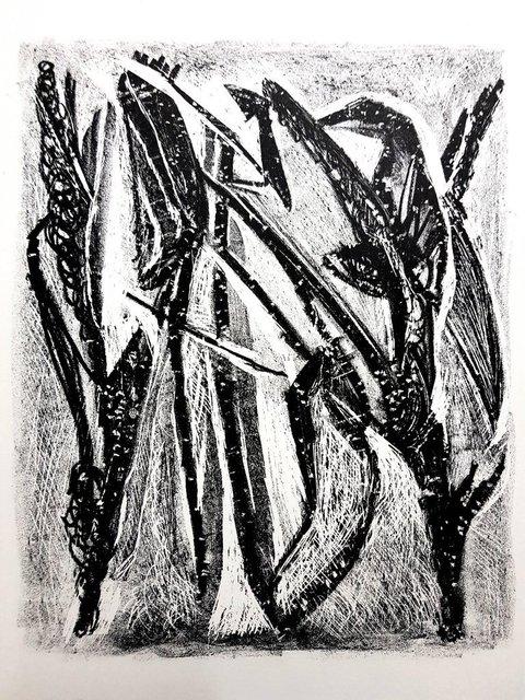 "Jean-Michel Atlan, 'Original Lithograph ""Kafka III"" by Jean-Michel Atlan', 1946, Galerie Philia"