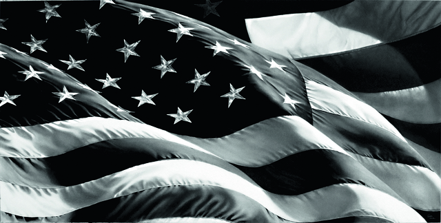 , 'American Flag X,' 2013, Galerie Raphael