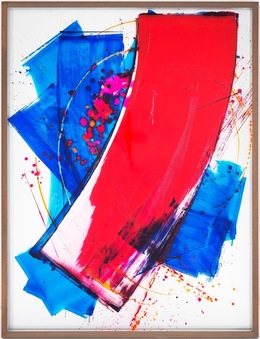, 'I love you (Red Over Blue),' 2014, Galerie Peter Kilchmann