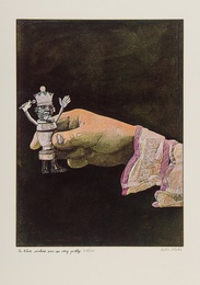 Peter Blake, 'So Alice Picked Him up Very Gently,' 1970, Forum Auctions: Editions and Works on Paper (March 2017)