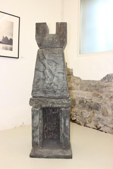 , 'Untitled, Bronze, Heiliger Mensch,' 1981, Werkhallen // Obermann // Burkhard