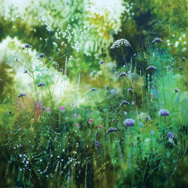, 'Wiltshire Summer Garden,' 2018, Hybrid Gallery