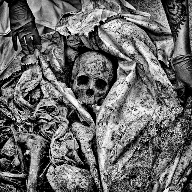 , 'The remains of an unidentified migrant discovered in Brooks County, TX.,' 2015, Anastasia Photo