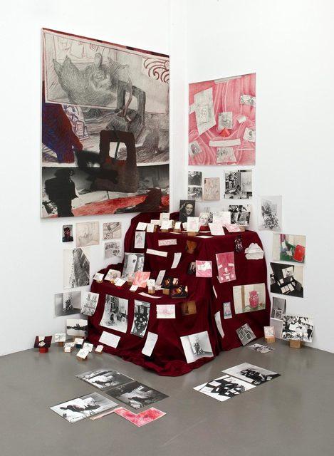 , 'Ensemble über ein Buch – z.B. »Theorie der Gefühle«,' 1981-1983, Barbara Thumm