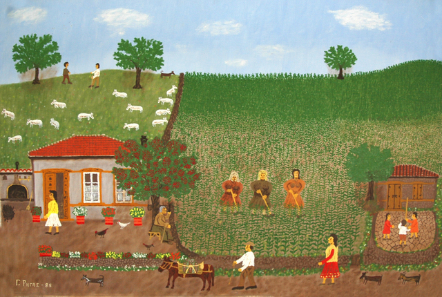 , 'Turning the Soil,' 1985, C. Grimaldis Gallery